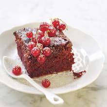 Bild på Rödbets- och chokladkaka