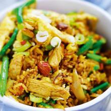 Bild på Nasi goreng med mandel