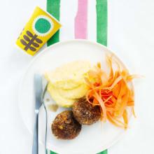 Bild på Pannbiff med potatismos