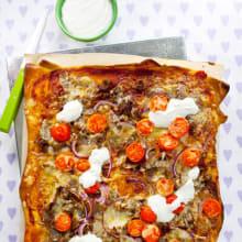Bild på Kebabpizza