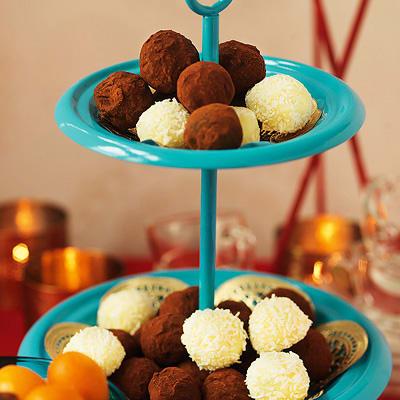vit chokladtryffel recept