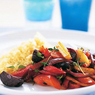 Bild på Ugnsrostade rotfrukter med couscous