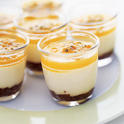 Bild på Cheesecake med chokladbotten