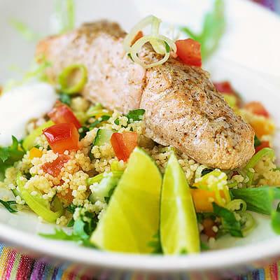 Bild på Currylax med grönsakscouscous
