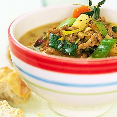 Bild på Värmande färssoppa med matkorn