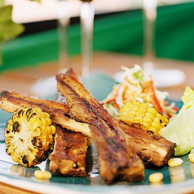 Bild på Spareribs hickory med krämig coleslaw