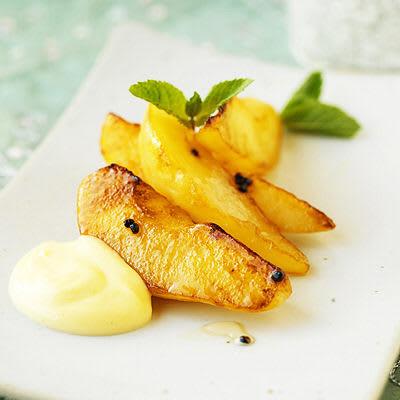 recept med päron