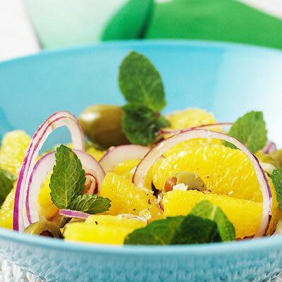 Bild på Apelsinsallad med oliver