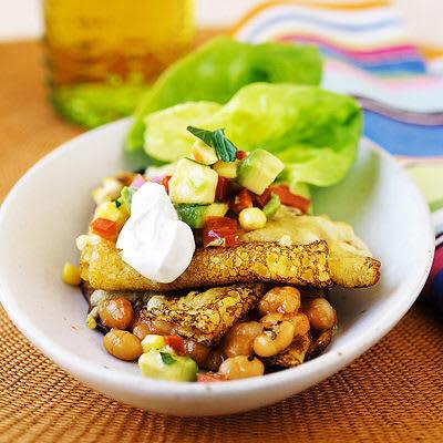 Bild på Ostgratinerad pannkaka mexicana
