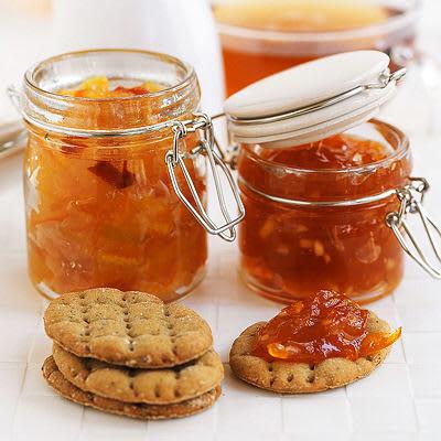 Apelsin- och pomelomarmelad