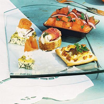 Bild på Minipizzor med ricotta, lök och ansjovis