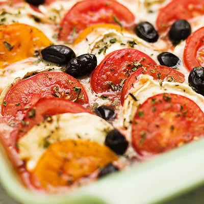 Bild på Tomat- och getostgratäng