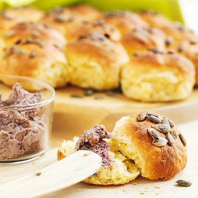 Bild på Brytbröd med pumpa, zucchini eller morot