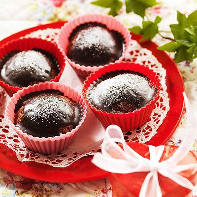 Bild på Heta chokladmuffins med mörk rom