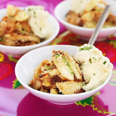 Bild på Enkel äppelkaka