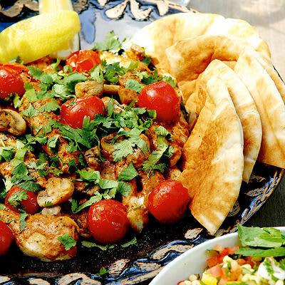 Bild på Libanesisk kyckling med tabbouleh