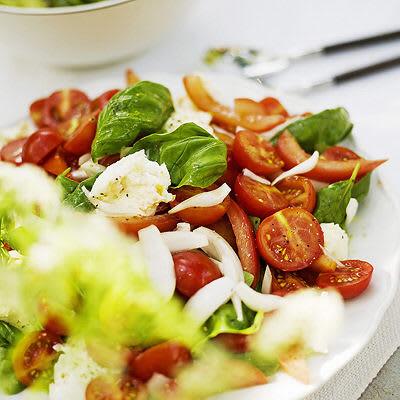 Bild på Tomatsallad med mozzarella