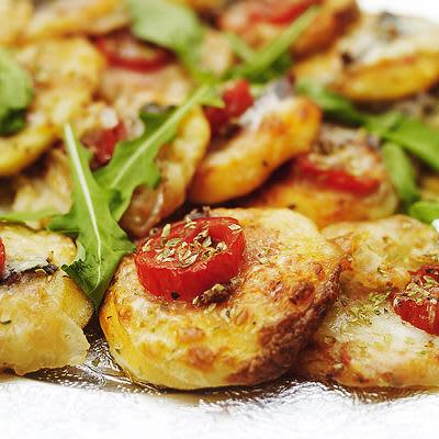 Bild på Minipizza med sardeller
