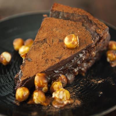 Bild på Chokladkaka med kaffeglasyr