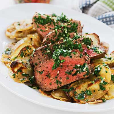 Coeur de filet provençale