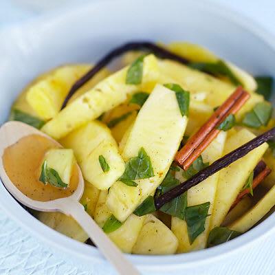 Bild på Ananas med citron och vanilj