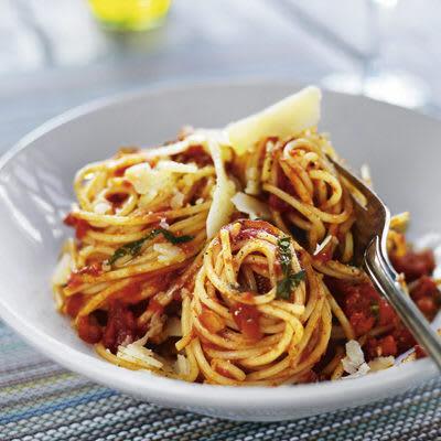 Bild på Tomatsås med spagetti