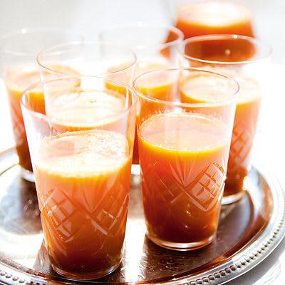 Bild på Morots- och citrusdrink