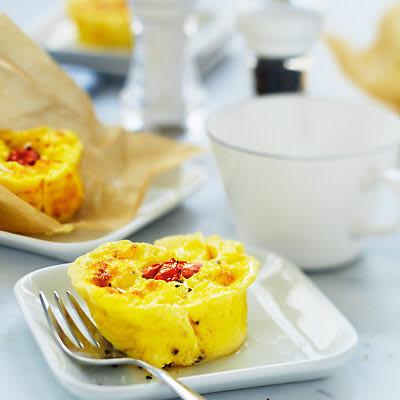 Bild på Cheesy eggs - ostiga ägg