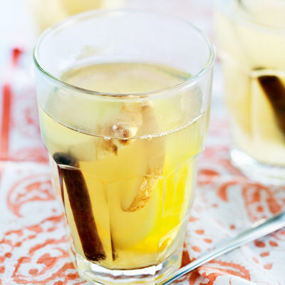 citrondryck med ingefära