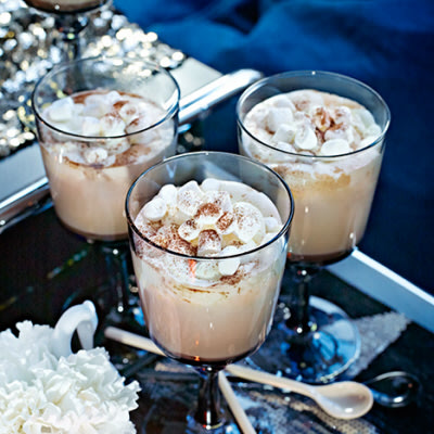varm choklad marshmallows