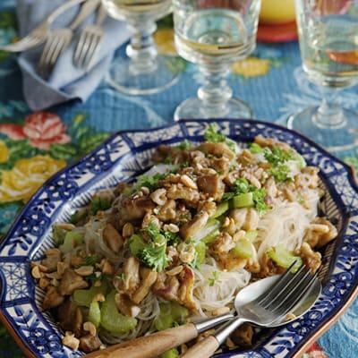 Bild på Ljummen kycklingsallad med sweetie och ugli