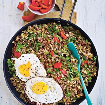 köttfärs och ris