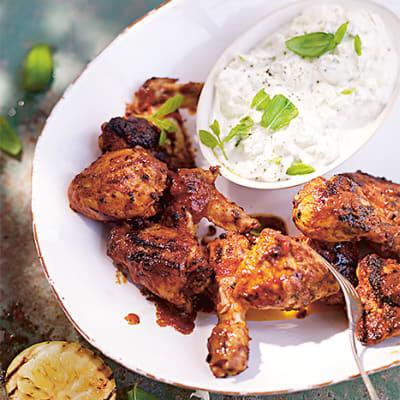 indisk kyckling recept