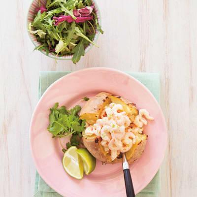 Bild på Bakad potatis med asiatisk räkröra