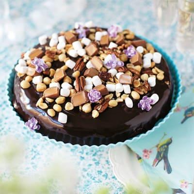 tårta utan nötter