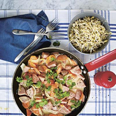 Bild på Thai stroganoff med grön curry