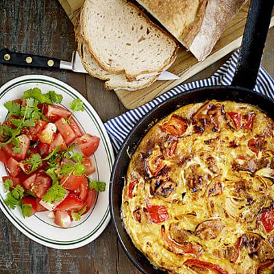 Bild på Tortilla med sötpotatis