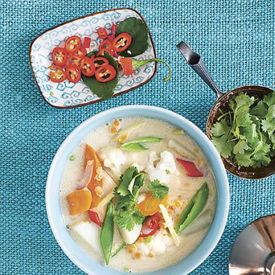 Bild på Vegetarisk Tom kha gai