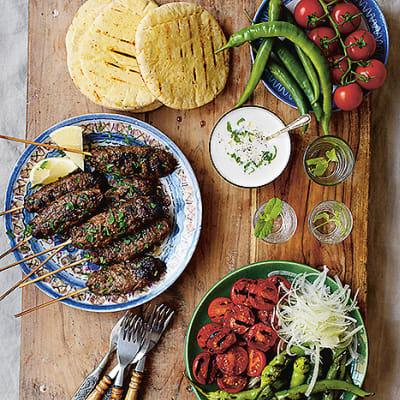 Bild på Turkiska spett i pitabröd