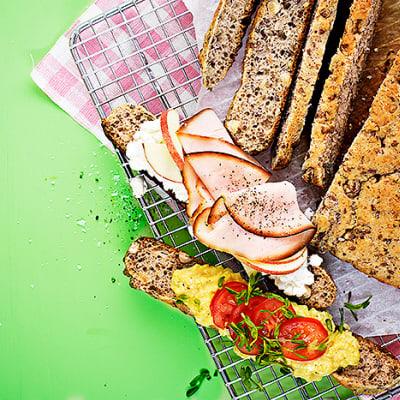 Bild på Frukostmacka med äggröra