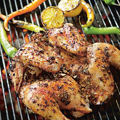 grilla hel kyckling