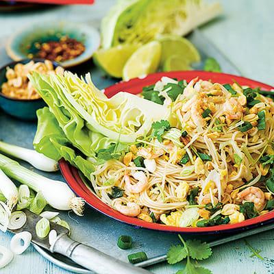 Bild på Pad thai med räkor