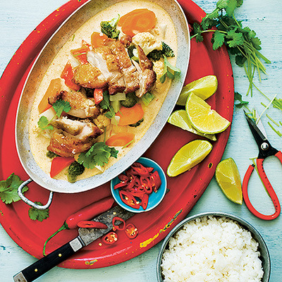 Bild på Krämig röd curry