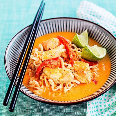 asiatisk kyckling recept