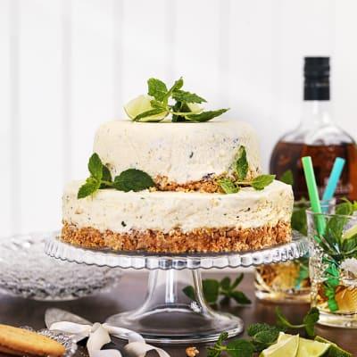 Bild på Frozen mojito cheesecake