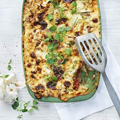 Bild på Lasagne med linser och zucchini