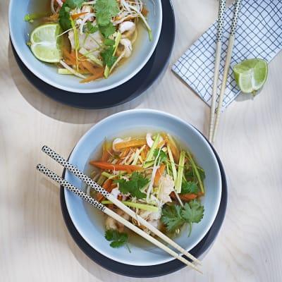 Bild på Asiatisk laxsoppa