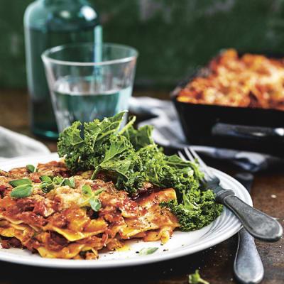 coop vegetarisk lasagne