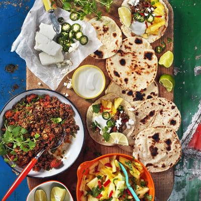 Bild på Tacos al pastor