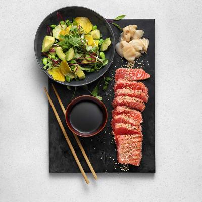 Bild på Sotad regnbåge (Fjordörret) sashimi style